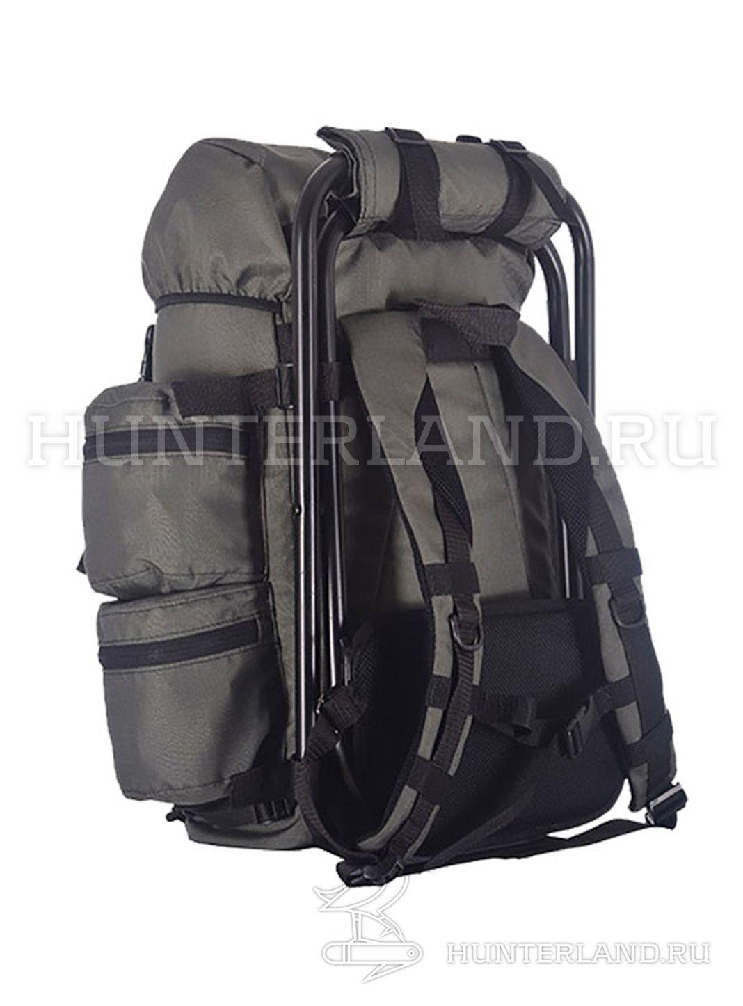 Рюкзак Для Рыбалки 35 Л. С Подсумкой